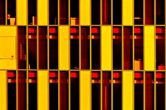 Thé mandarine / Tangerine tea (fidgi) Tags: red orange yellow architecture jaune rouge boulognebillancourt dominiqueperrault aurélium