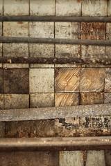 patchwork. (stevenbley) Tags: urban snow abandoned hospital newjersey rust bokeh decay exploring nj urbanexploration grime peelingpaint breeze asylum decayed psychiatric urbanexploring psychiatrichospital asbestos urbex sneak guerillahistorian chestdisease