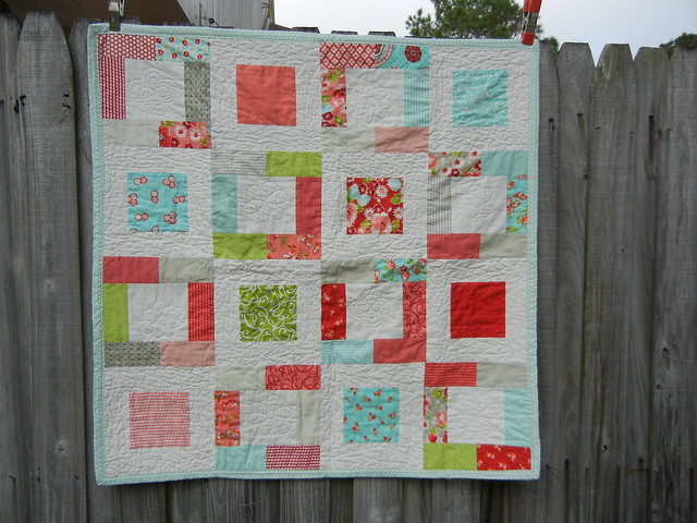 Super easy baby quilt