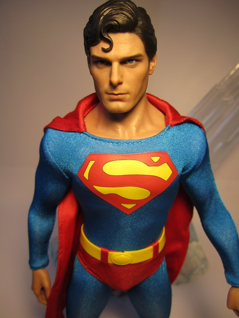 HOT TOYS SUPERMAN THE MOVIE CHRISTOPHER REEVE ACTION FIGURE ROCKETRAYGUN
