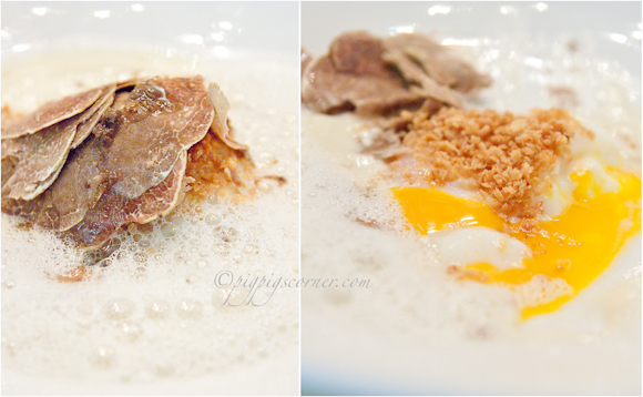 Santi @ Marina Bay Sands, Singapore - egg confit