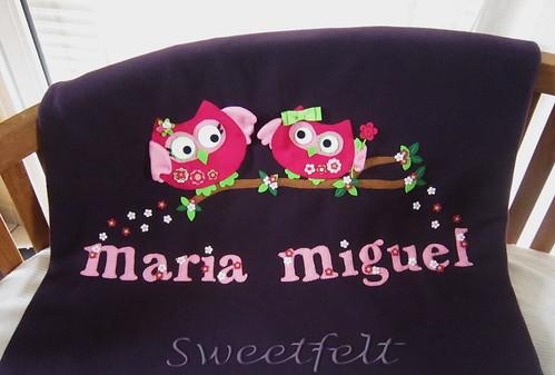 ♥♥♥ Para ti,  Maria ... by sweetfelt \ ideias em feltro