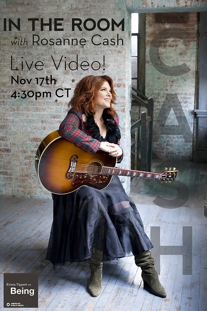 Rosanne Cash live with Krista Tippett On Being