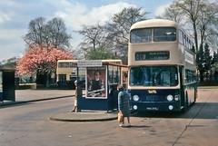 Ex Midland Red DD13 6270 (geoff7918) Tags: blackheath alexander fleetline 229 dd13 6270 midlandred 6435 yha670j bearwoodbusstation
