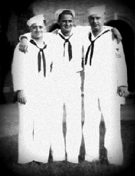 James Paul Stalls, Jr (middle)US Navy Seabee WWII
