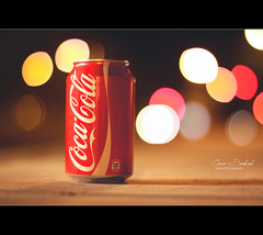 Coca-Bokeh (Faisal | Photography) Tags: life colors canon eos still dof bokeh unique 14 style cocacola usm 50 ef canonef50mmf14usm 50d canoneos50d faisal|photography