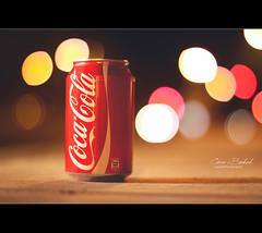 Coca-Bokeh (Faisal | Photography) Tags: life colors canon eos still dof bokeh unique 14 style cocacola usm 50 ef canonef50mmf14usm 50d canoneos50d faisal|photography فيصلالعلي
