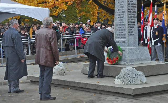 Placing the Wreaths