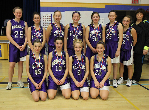 Jr. Girls Basketball Silver - Beaver Brae Broncos
