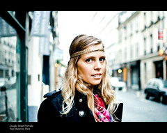 Emma-Jo, Rue Mazarine (11/100) (pmcconnochie / Urban Scot Photography) Tags: street portrait woman paris france french strangers streetportrait stranger streetphoto streetphotos streetshot ruemazarine 100strangers nikkor35mm18 nikond5100 pmcconnochie primeportrait primenikkor