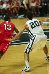 Nick Colella on Defense (acaben) Tags: basketball pennstate defense collegebasketball ncaabasketball nickcolella psubasketball pennstatebasketball