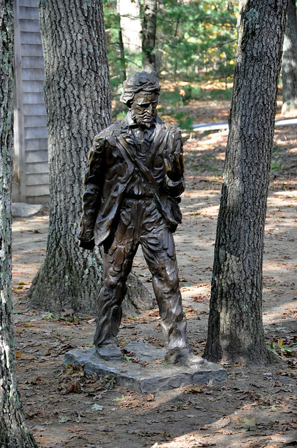 Thoreau, Walden Pond, Concord, Massachusetts