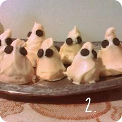 ghostie cake balls
