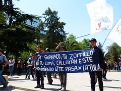 Por ah mismo (nerraz) Tags: santiago liberty libertad justice protest protesta rights paro marcha educacion estudiantes encapuchados incidents incidentes
