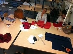 Textila Tisdag 15 november 10.00 (Stockholms Tillskärarakademis Gymnasium) Tags: gymnasiet textila hantverksvecka