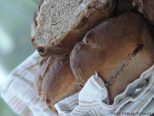 pains à la farine de châtaigne