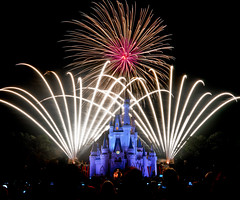 Wishes (Adam Hansen) Tags: mainstreet fireworks disney wishes wdw waltdisneyworld mk magickingdom disneyfireworks cinderellacastle disneyphotography