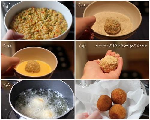 Chicken Bitterballen - Method 2