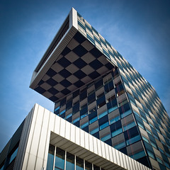 STC Group, building, Rotterdam (bluesdaniel) Tags: haven building bird architecture rotterdam harbour stad mullerpier