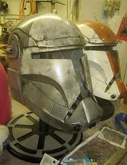 Scorch Helmet Retouched (thorssoli) Tags: starwars costume helmet replica armor prop paintjob scorch republiccommando