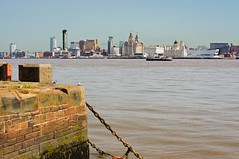 Liverpool Skyline 2011 (moz278) Tags: ferry liverpool river mersey liverpoolskyline