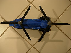 CH-106 Titan Helicopter (Clonecommando007) Tags: truck plane wings chopper doors lego jeep suspension military jet engine gear swing landing helicopter stealth guns minigun warthog rotor retractable tiltrotor