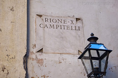 """rione Campitelli • <a style=""""font-size:0.8em;"""" href=""""http://www.flickr.com/photos/89679026@N00/6413936861/"""" target=""""_blank"""">View on Flickr</a>"""