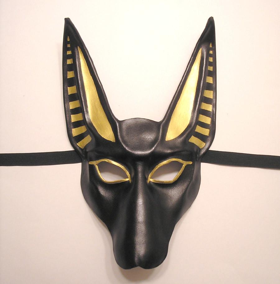 leather anubis mask by teonova teonova tags black art halloween leather fashion animal