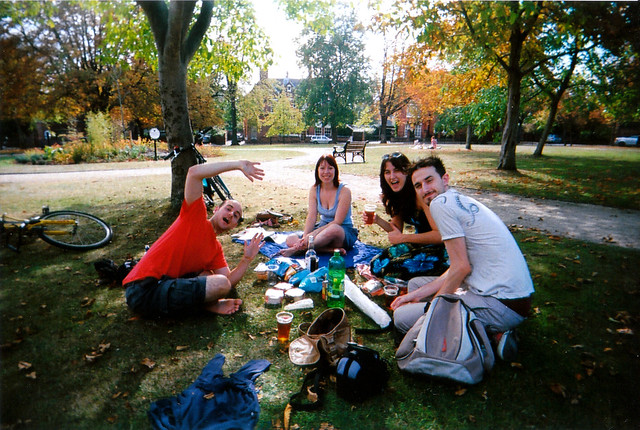 Autumn Picnic in the Park