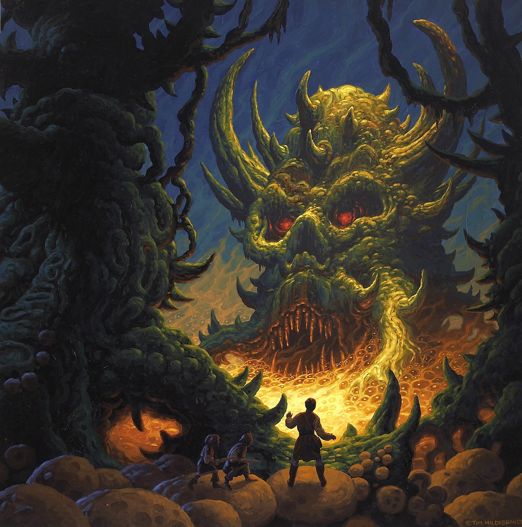 Tim Hildebrandt - Demon Swamp, 1983