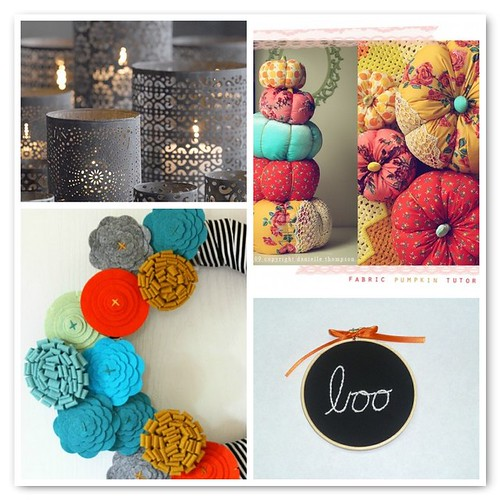 ::Bright with Black:: fall decor
