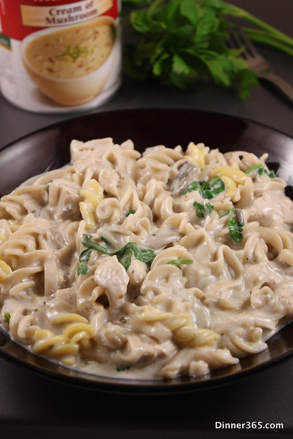 Day 278 - Cream of Mushroom and Chicken Pasta