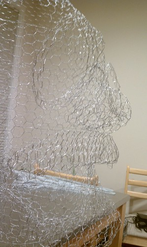 Stage 2 - Chicken wire wireframe
