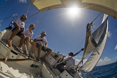 coup de gite (olivo971) Tags: sea sun mer fish eye sailboat soleil crew sail bateau voilier guadeloupe equipage voiles zenitargroup olivo971
