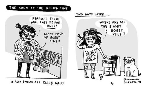 the everlasting saga of the bobby pins