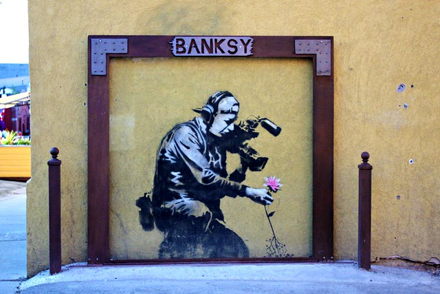 Banksy at Java Cow