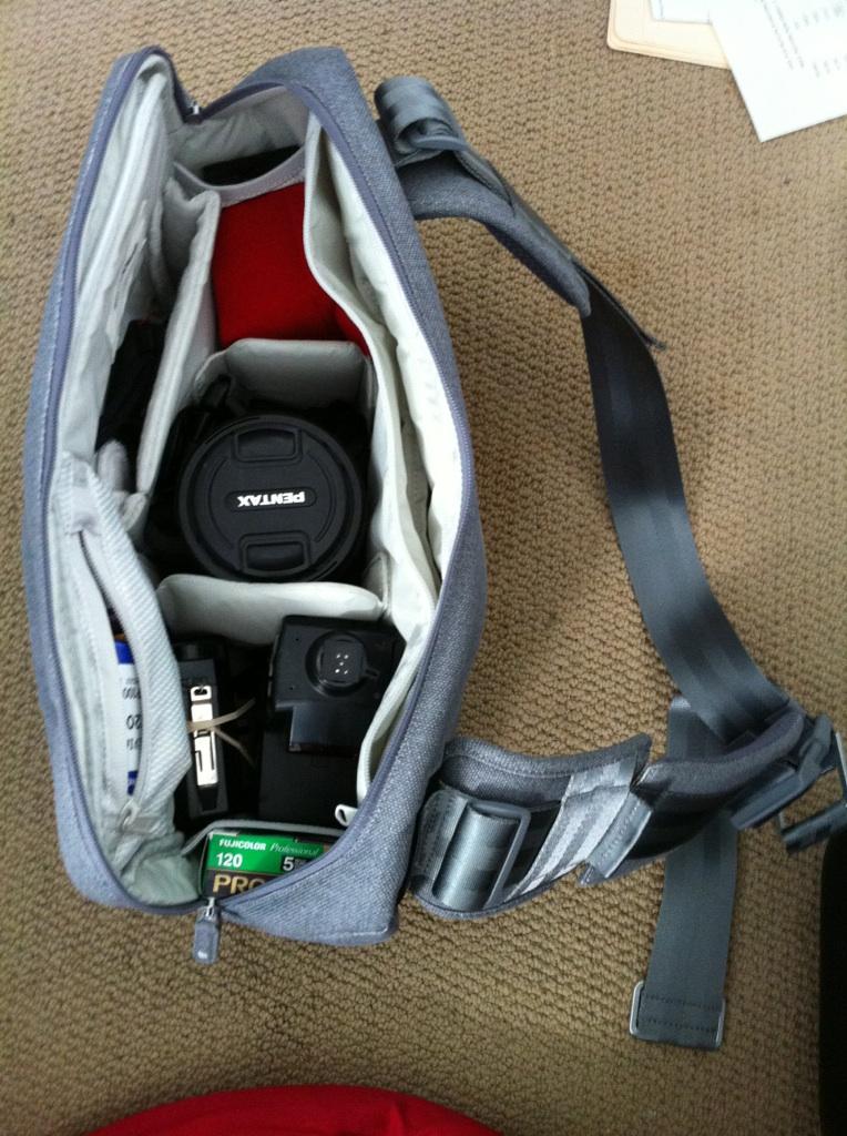 Ari Marcopoulos camera bag by Incase