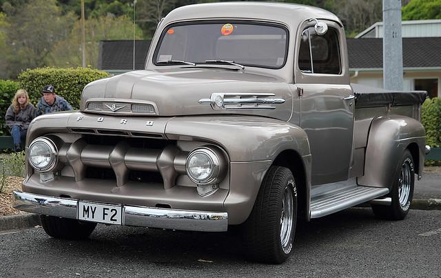 ford truck pickup f2 1952