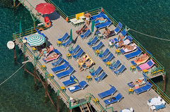 Pier Pleasure (Simonlphoto) Tags: blue summer sky italy food sun holiday hot sunshine weather landscape nikon october scenery italia drink sigma explore views positano sorrento 1020mm popular med 18105mm simonlane d7000 sim75 simonlphoto simonlphotolivecom