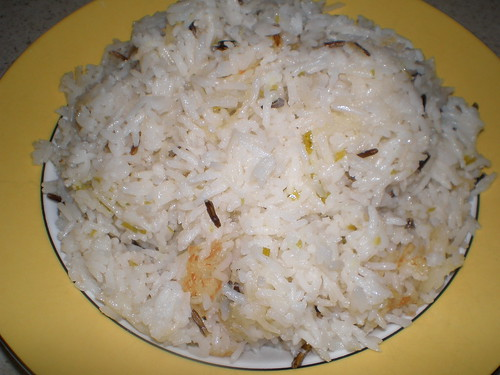 Coconut-Lime Basmati Rice