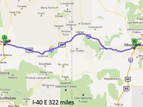 Flagstaff-to-Albuquerque