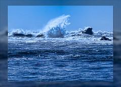 Wave Power (MyRidgebacks - Sharon C Johnson) Tags: waves pacificocean pacificcoast sanmateocoast impressedbeauty myridgebacksphotography musictomyeyeslevel1