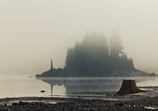 Stave Lake Island