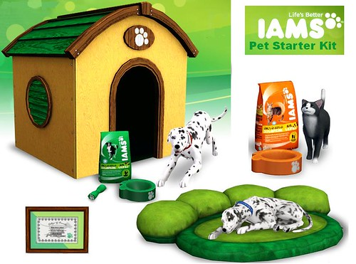 Iams Get Started Kit des Sims