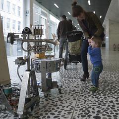 ArtBots festival 2011 (Peter Van Lancker) Tags: festival robot gent gand artbots timelab