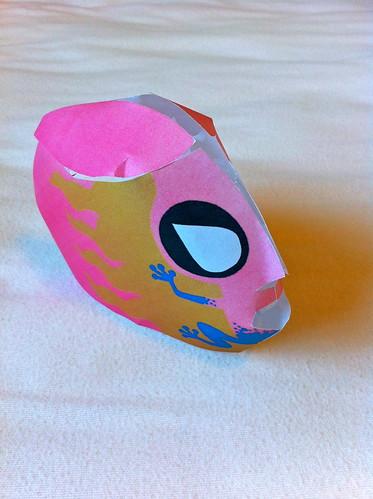 Mask paper mockup