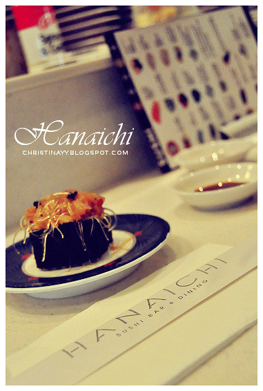Hanaichi Japanese Sushi Bar at Wintergarden Brisbane