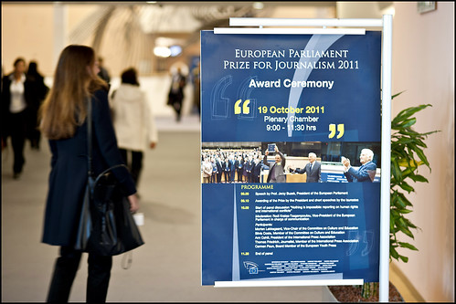 EP Journalism Prize 2011 winners are from France, Italy, Finland and Germany