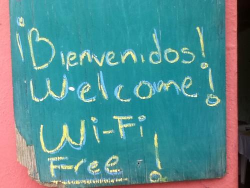Wi-Fi @ El Quinque, Oaxaca 10.2011