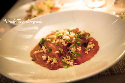 Yellowfin Tuna Carpaccio